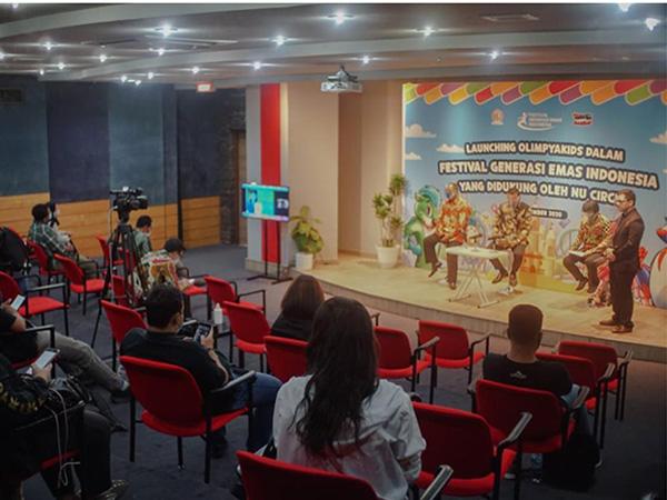 NU Circle Dukung Olimpyakids di Festival Generasi Emas Indonesia