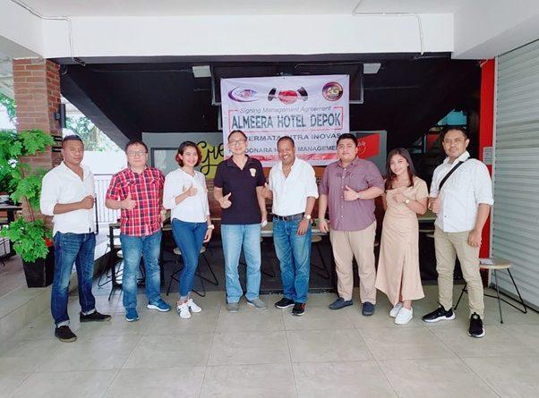 Adonara Hotels Group Tanda Tangani Kerja Sama dengan Almeera Hotel Depok