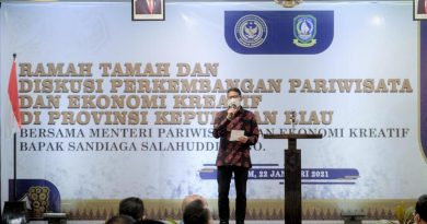 Pelaku Parekraf di Kepulauan Riau Berkomitmen Tingkatkan Kepatuhan Protokol Kesehatan