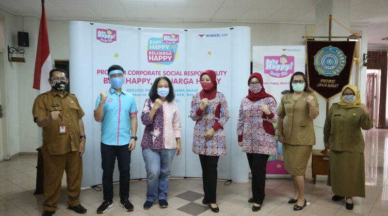 Popok Baby Happy Bagikan Kebahagiaan di Tengah Pandemi