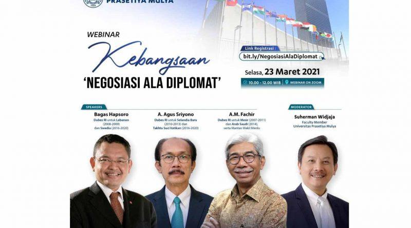 Pentingnya Wawasan Kebangsaan dalam Diplomasi
