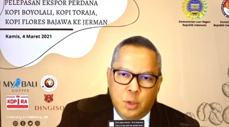 Kopi Indonesia Masuk Pasar Jerman