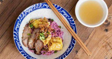 Purple noodles feature at COCA Pop-Up