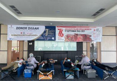 Road to 1st Anniversary Teraskita Hotel Makassar  Lakukan Donor  Darah